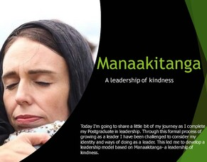 Manaakitanga - A leadership of kindness